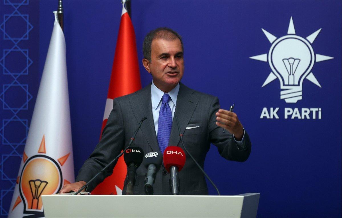 Ömer Çelik ten AK Parti MYK sonrası açıklama  #2