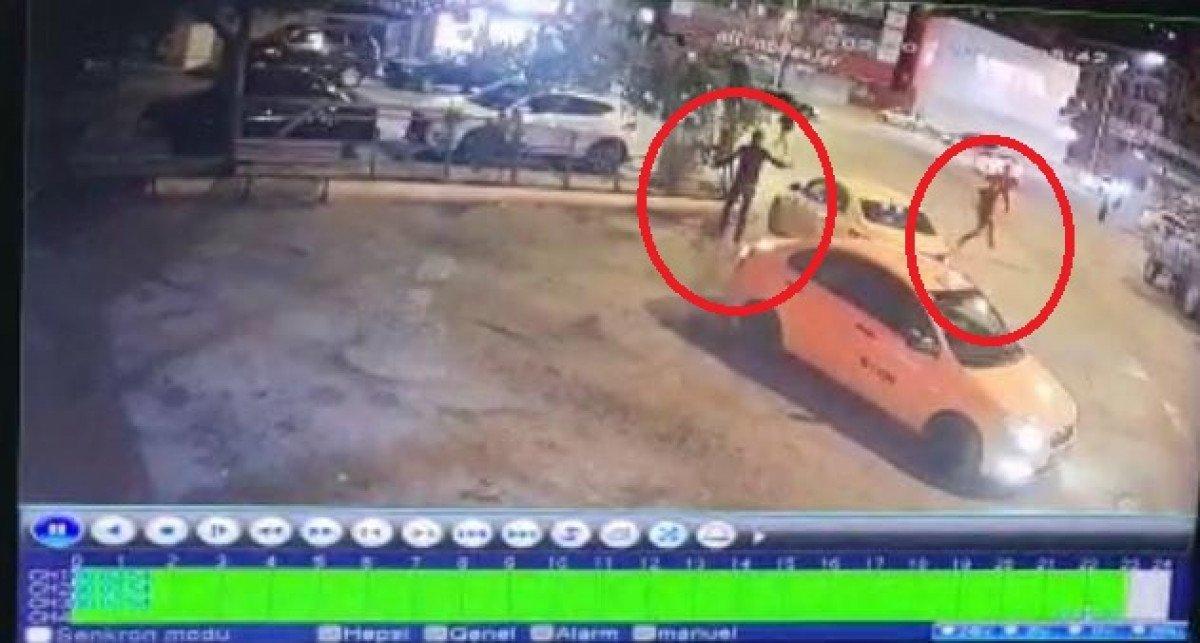 Ankara'da, taksi durağında kardeşine silahla saldırdı #4