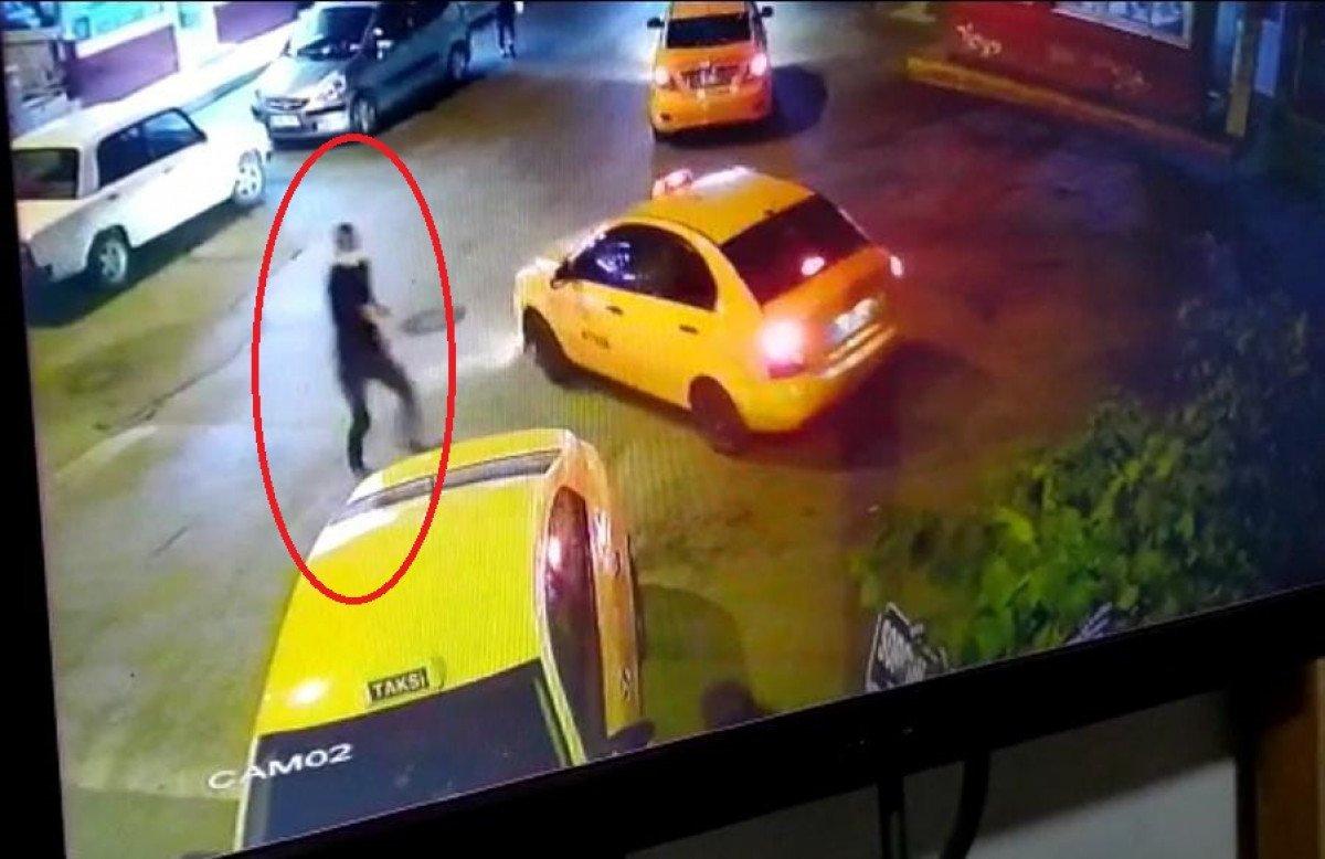 Ankara'da, taksi durağında kardeşine silahla saldırdı #3