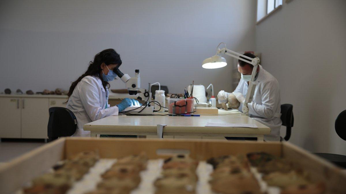 Şanlıurfa Arkeoloji Müzesi nde nadide eserlere hassas koruma #4