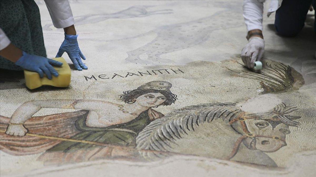Şanlıurfa Arkeoloji Müzesi nde nadide eserlere hassas koruma #1