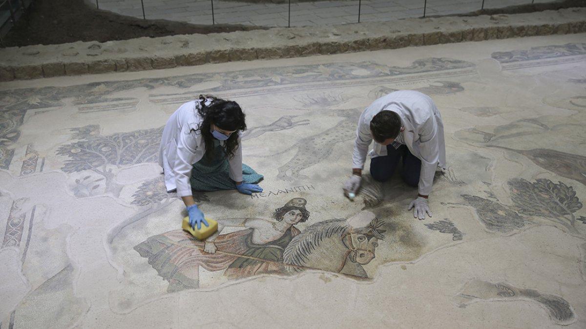 Şanlıurfa Arkeoloji Müzesi nde nadide eserlere hassas koruma #2