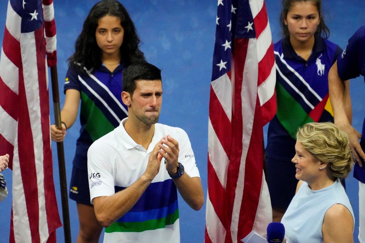 ABD Açık ta Djokovic i yenen Medvedev şampiyon #3