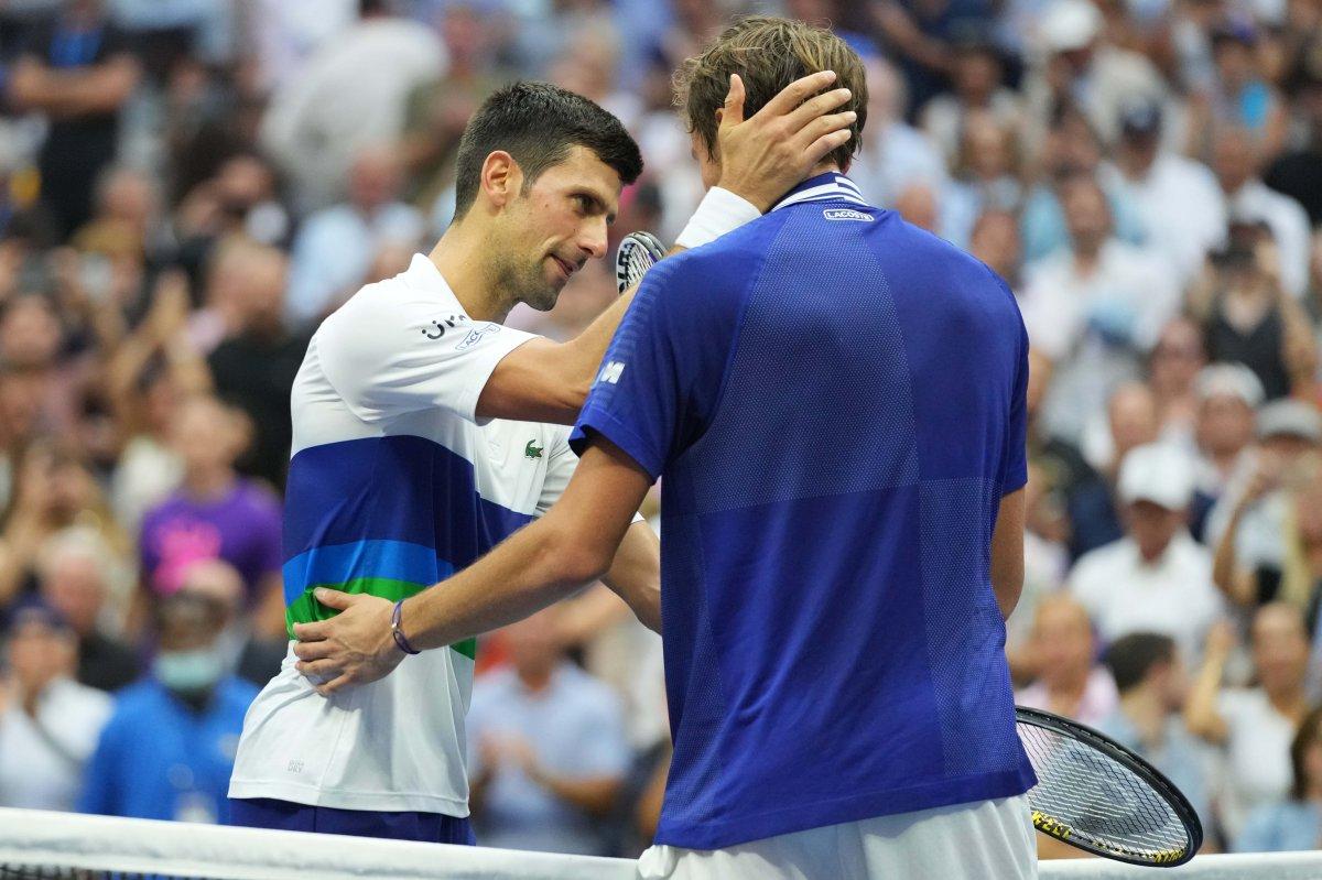 ABD Açık ta Djokovic i yenen Medvedev şampiyon #1