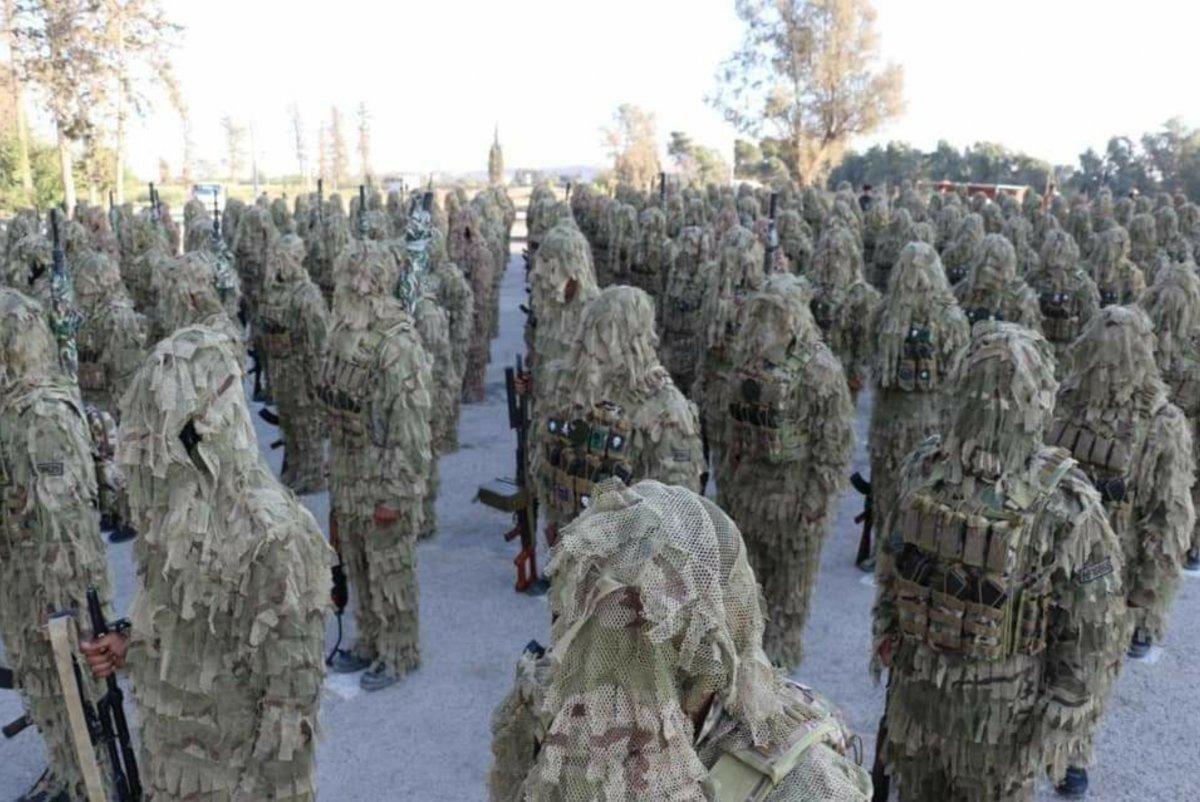 PKK lı teröristlere yeni kamuflaj gönderildi #1