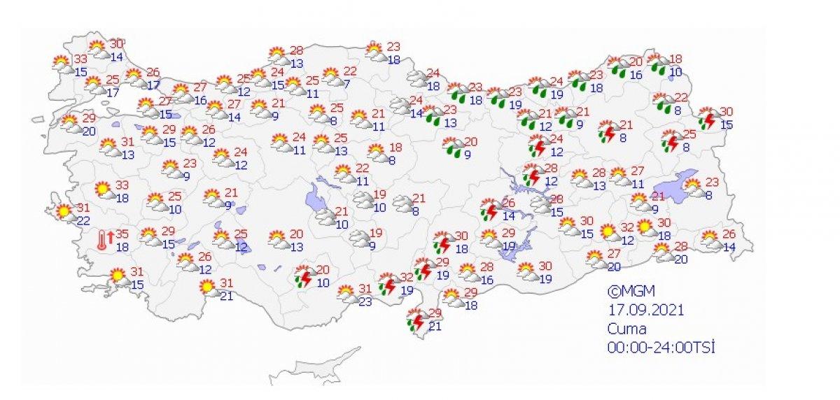 Meteoroloji uyardı: İstanbul da şiddetli yağış bekleniyor #5