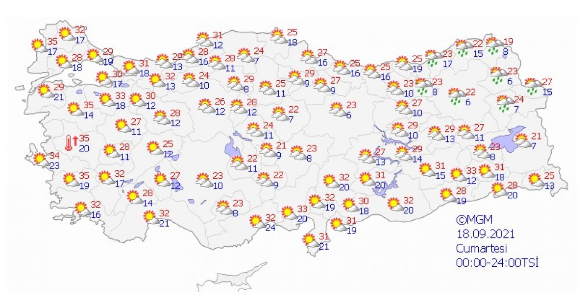 Meteoroloji uyardı: İstanbul da şiddetli yağış bekleniyor #6