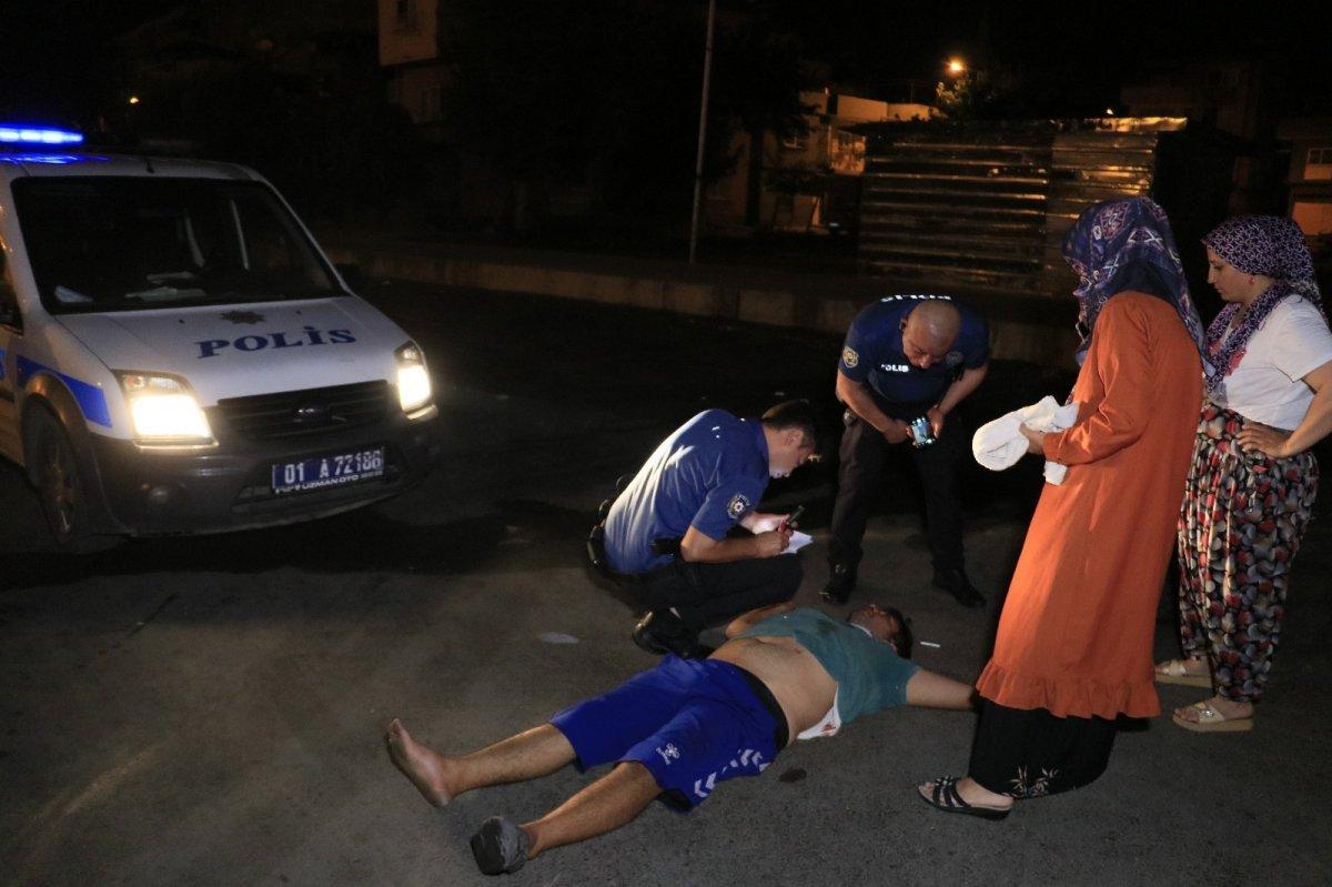 Adana da sopayla dövdükleri kişiyi defalarca bıçakladılar #4