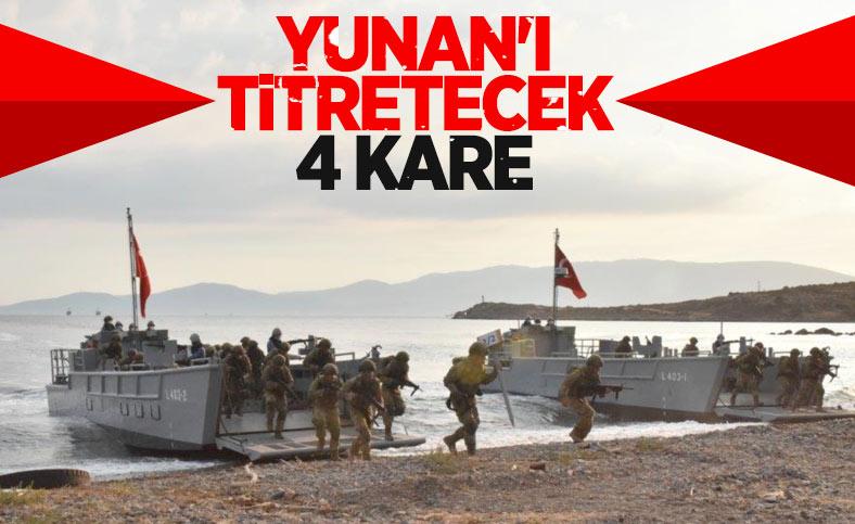 Mehmetçik'in harekata hazırlık eğitimi