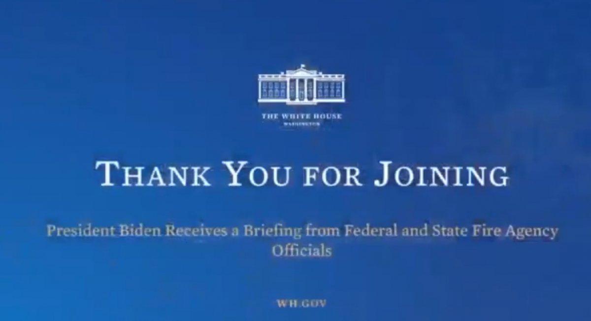 Beyaz Saray, Joe Biden konuşurken canlı yayını kesti #1