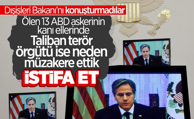 ABD Dışişleri Bakanı Blinken ve Kongre üyeleri arasında Afganistan tartışması