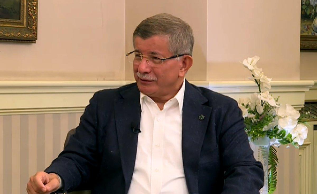Ahmet Davutoğlu: Suriye de Kürtler için federasyon kararı alınırsa saygı gösterilmeli  #1