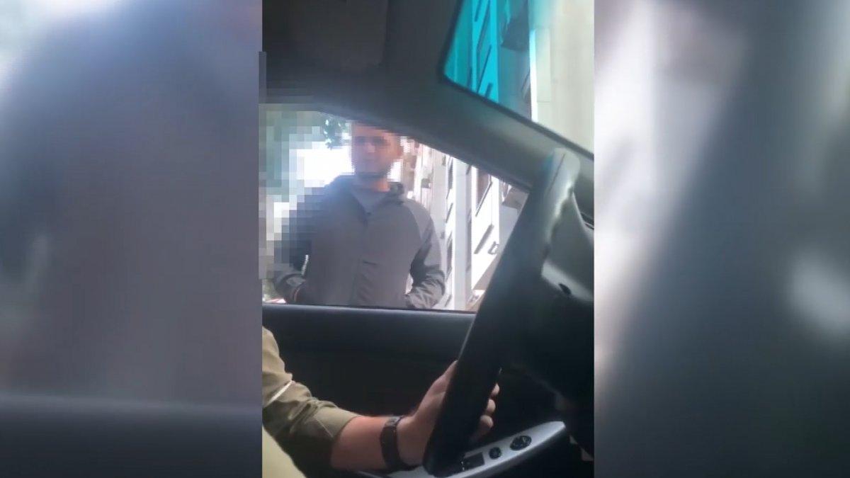 Bakırköy'de sivil polisler değnekçiyi suçüstü yakaladı #1
