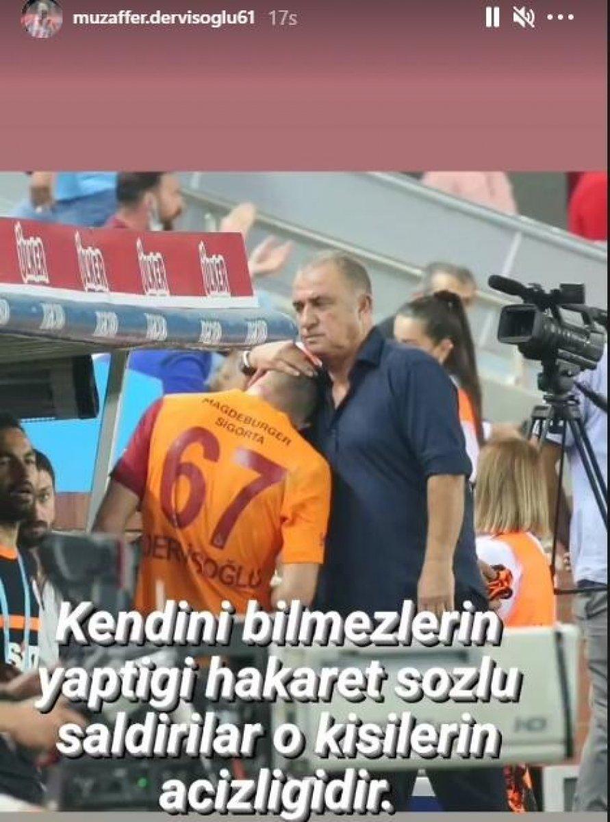 Halil Dervişoğlu nun babasından imalı paylaşım #2