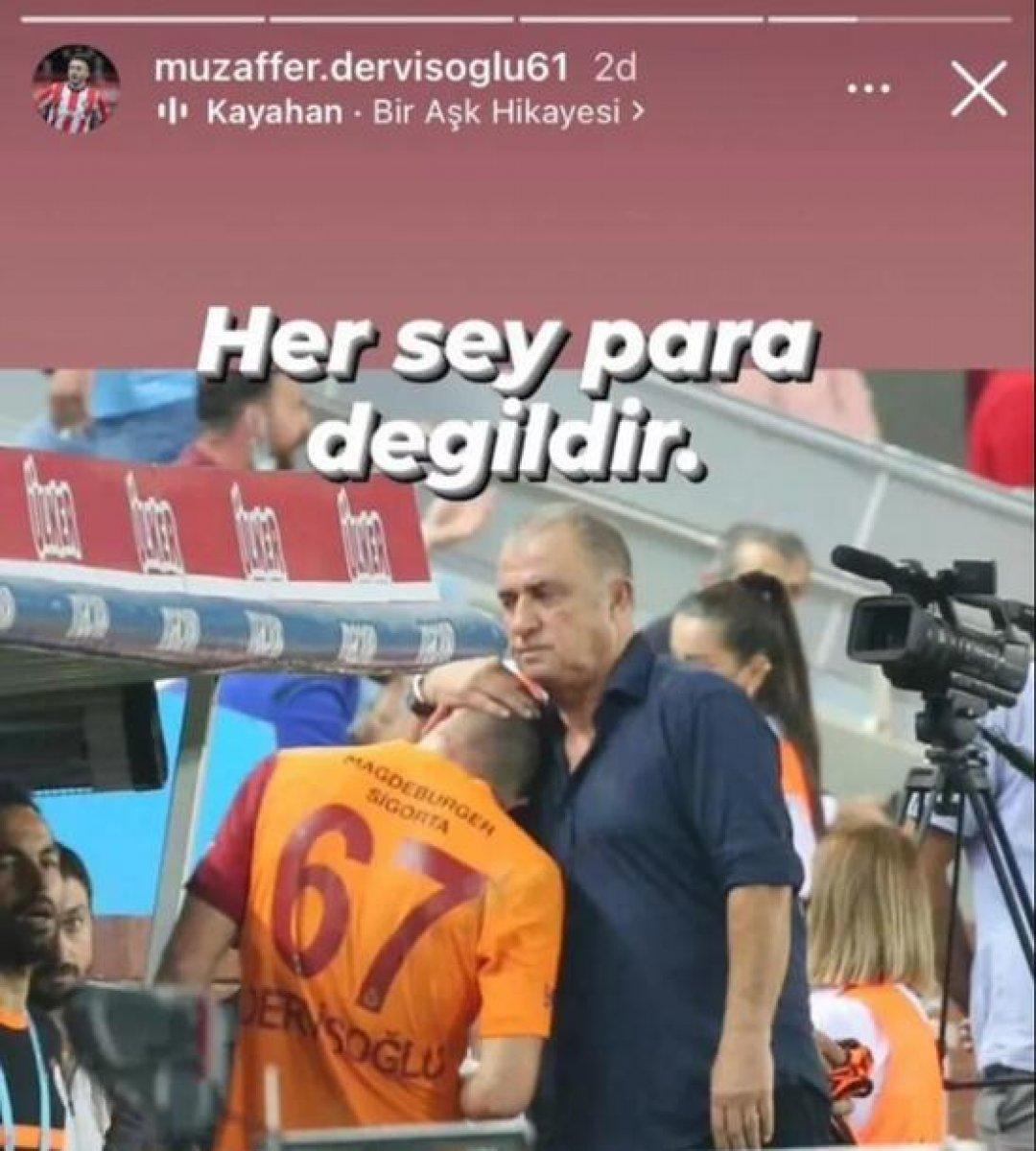 Halil Dervişoğlu nun babasından imalı paylaşım #1
