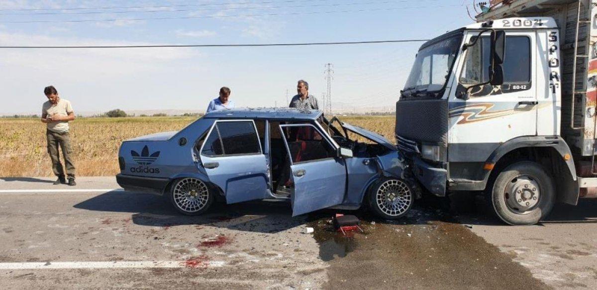 Aksaray da hatalı sollama faciaya neden oldu: 8 yaralı #4