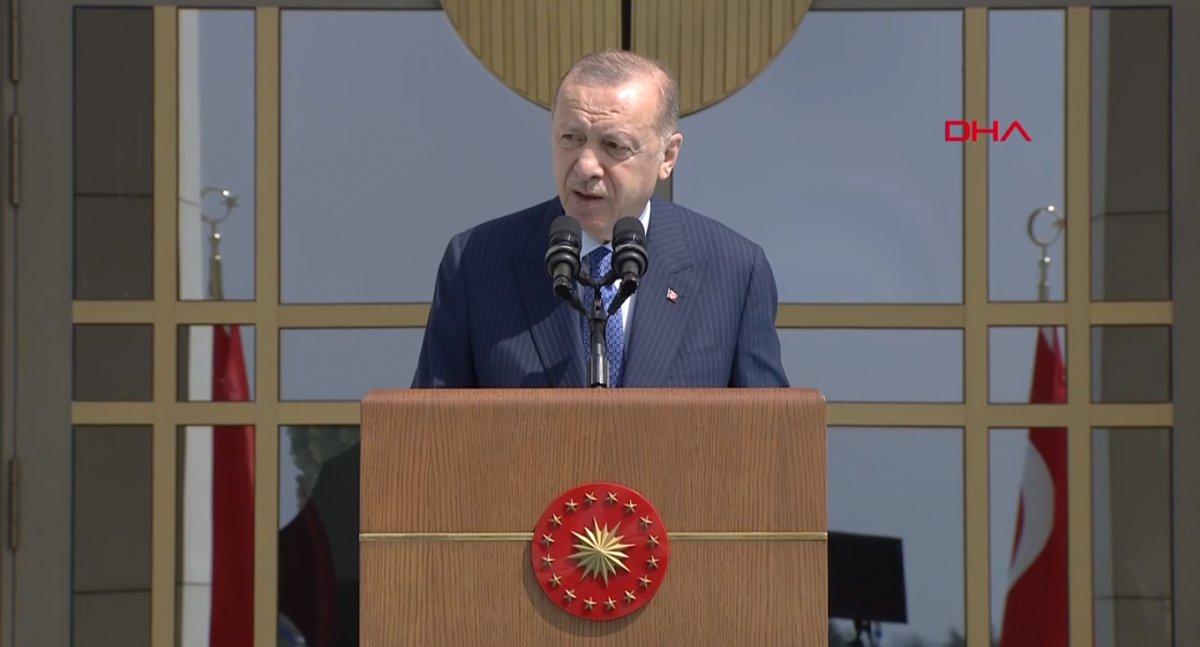 Cumhurbaşkanı Erdoğan, Beştepe de işçilerle buluştu #2