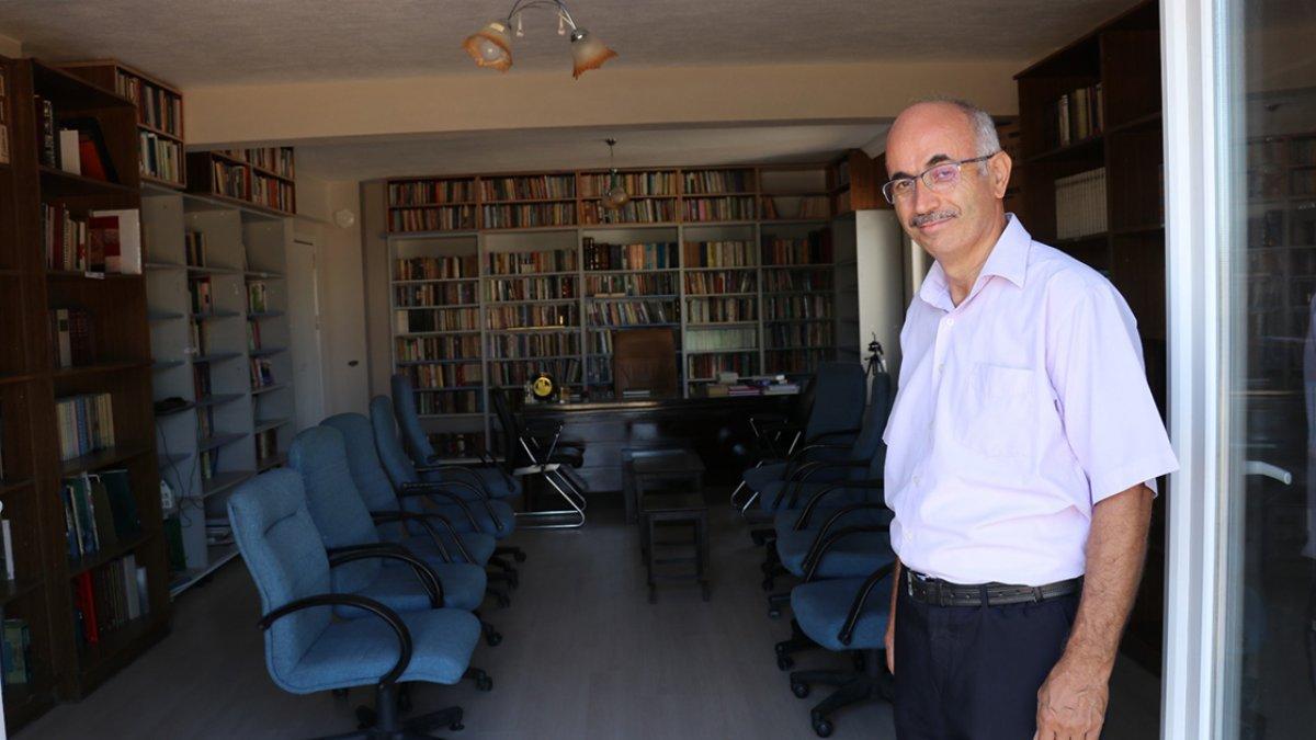 Denizlili gazeteci, kütüphane hayalini 40 yıl sonra köyünde gerçekleştirdi #4
