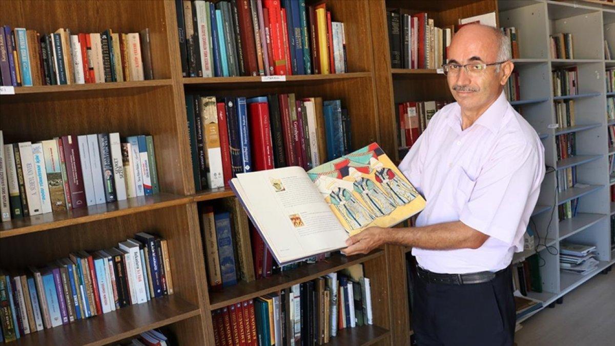 Denizlili gazeteci, kütüphane hayalini 40 yıl sonra köyünde gerçekleştirdi #1