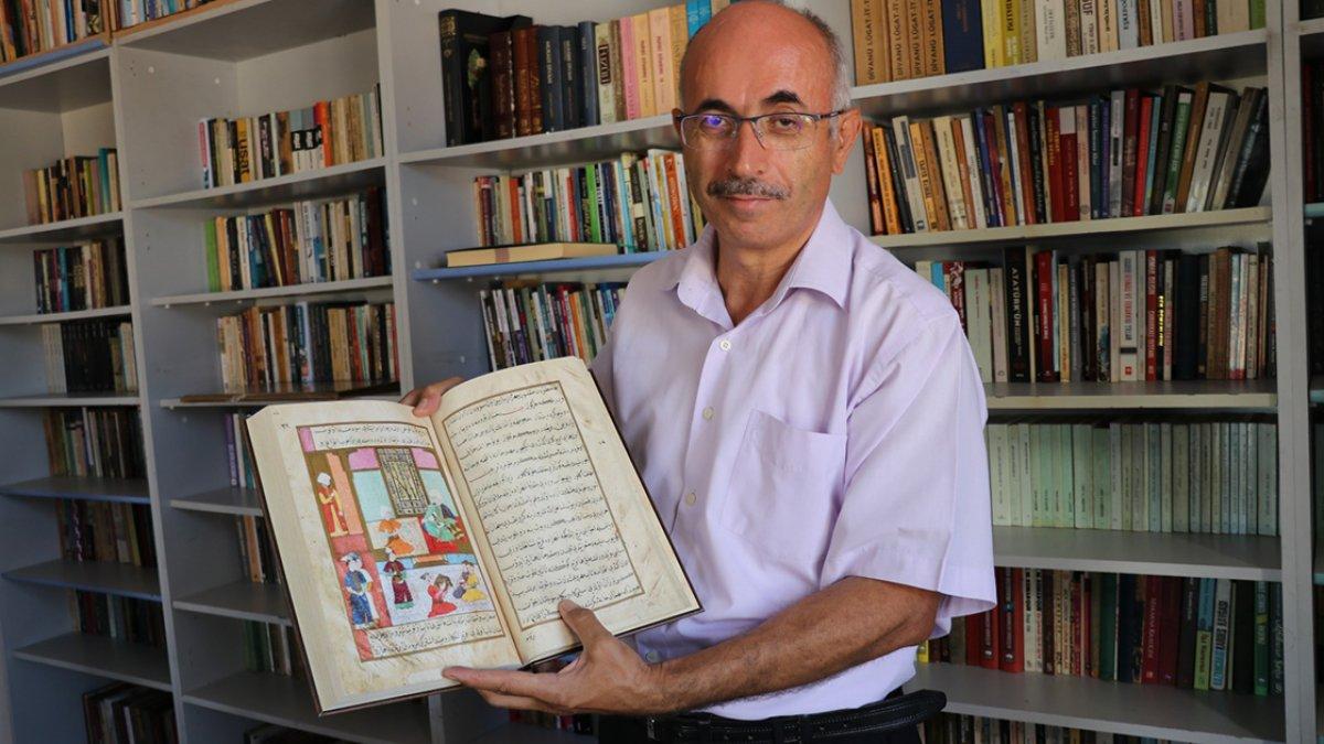 Denizlili gazeteci, kütüphane hayalini 40 yıl sonra köyünde gerçekleştirdi #3