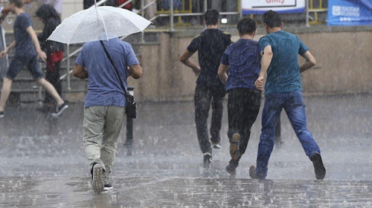 Meteoroloji uyardı: İstanbul da şiddetli yağış bekleniyor #1