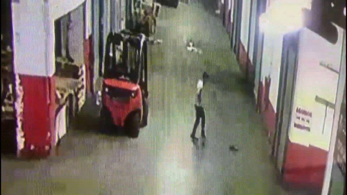 İstanbul da yavru kediyi tekmeleyerek öldüren cani kamerada #2