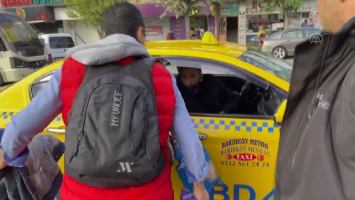 Bakırköy de kısa mesafe yolcu almayan taksiciye para cezası #3