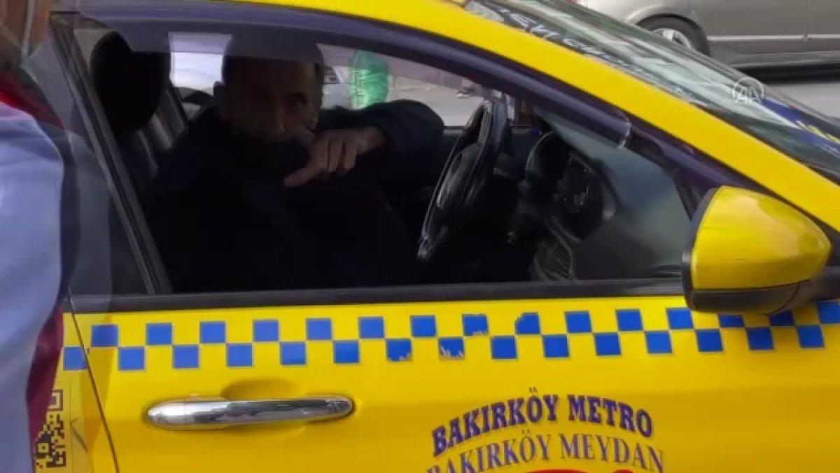 Bakırköy de kısa mesafe yolcu almayan taksiciye para cezası #2