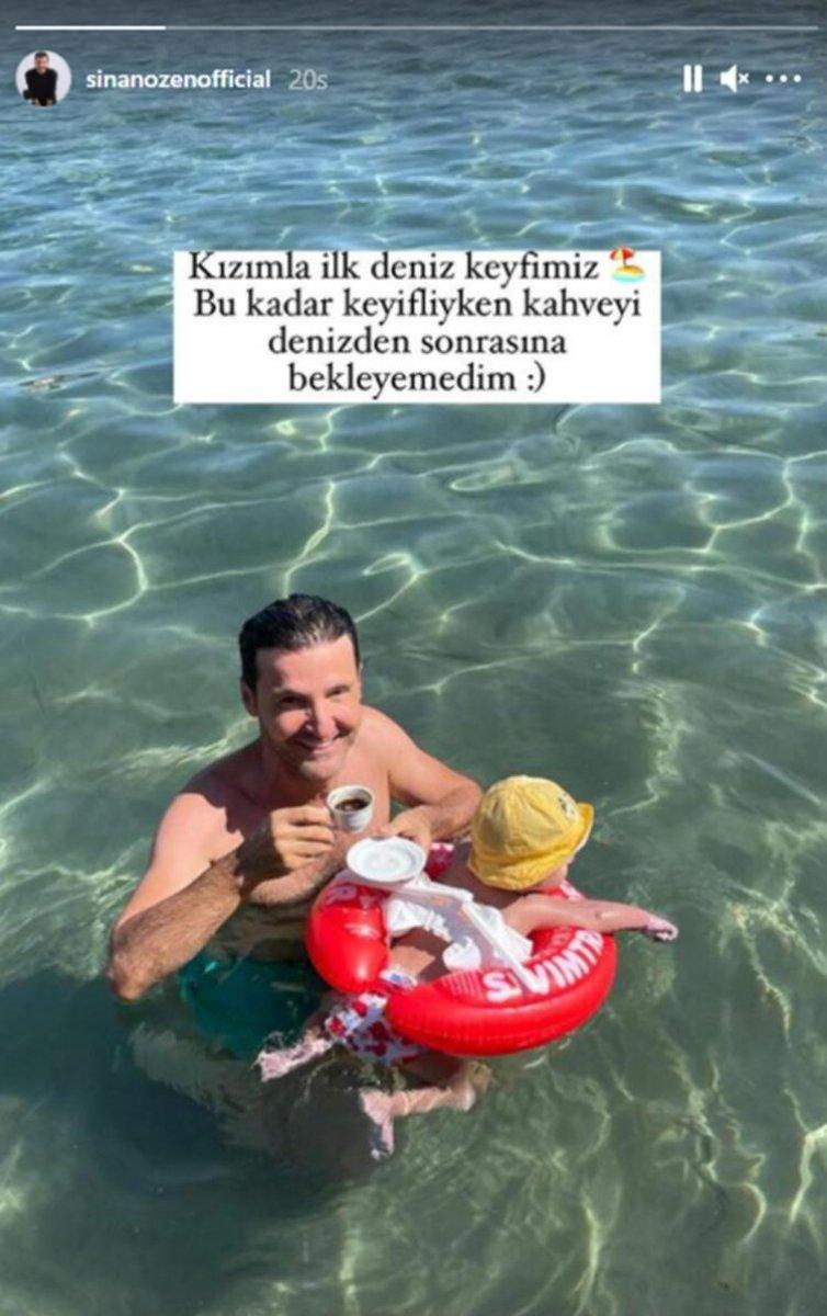 Sinan Özen: Kızımla ilk deniz keyfimiz #1