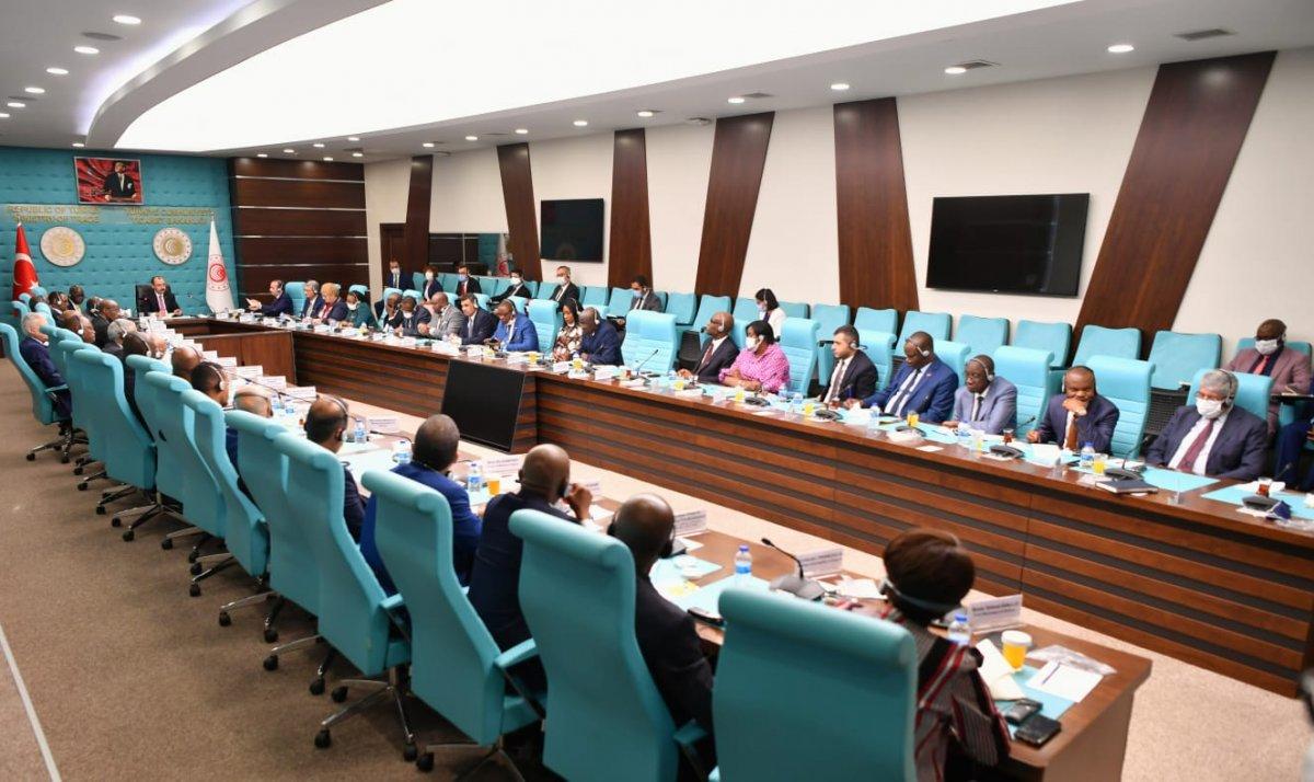 Mehmet Muş, Afrika ülkelerinin Ankara büyükelçileriyle bir arada  #2