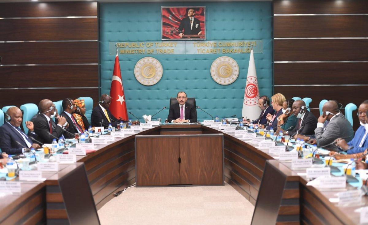 Mehmet Muş, Afrika ülkelerinin Ankara büyükelçileriyle bir arada  #1
