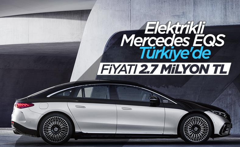 Elektrikli Mercedes EQS Türkiye'de: İşte fiyatı