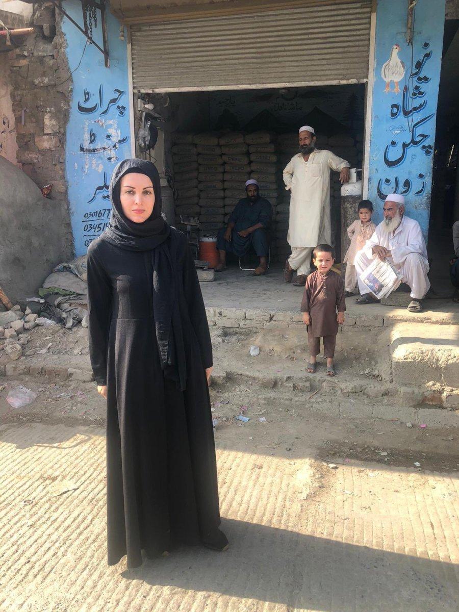 Nagehan Alçı Afganistan a gitti #1