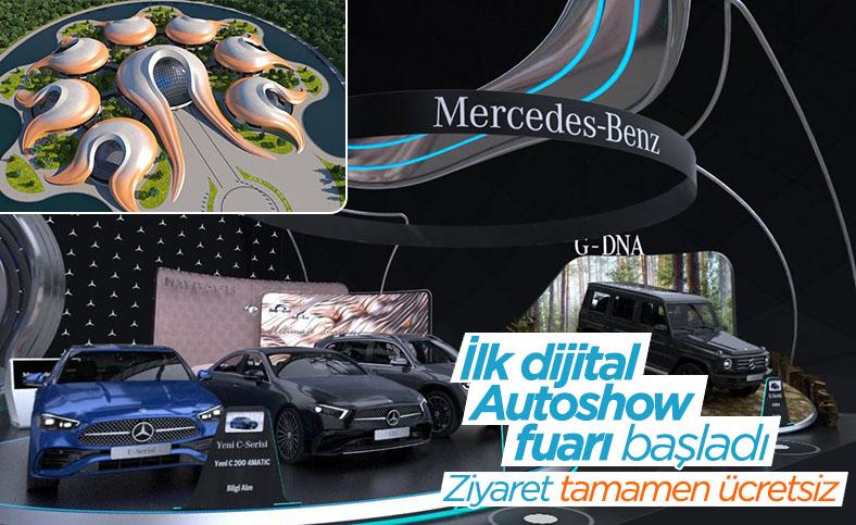 İlk dijital Autoshow fuarı başladı