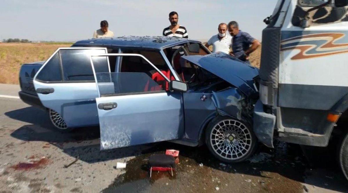 Aksaray da hatalı sollama faciaya neden oldu: 8 yaralı #2
