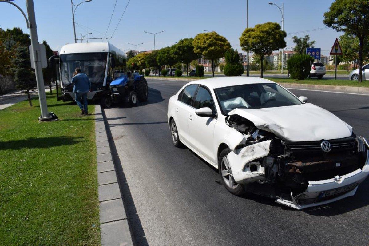 Malatya da hatalı sollama kazaya neden oldu #2