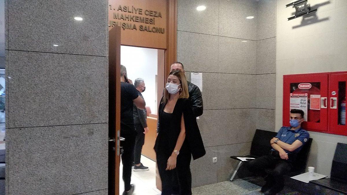 Özcan Deniz, eski eşini darbettiği iddiasıyla hakim karşısında #4