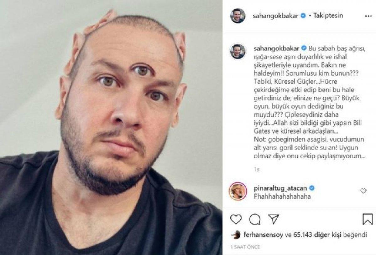Şahan Gökbakar, aşı karşıtlarının iddialarını tiye aldı #1