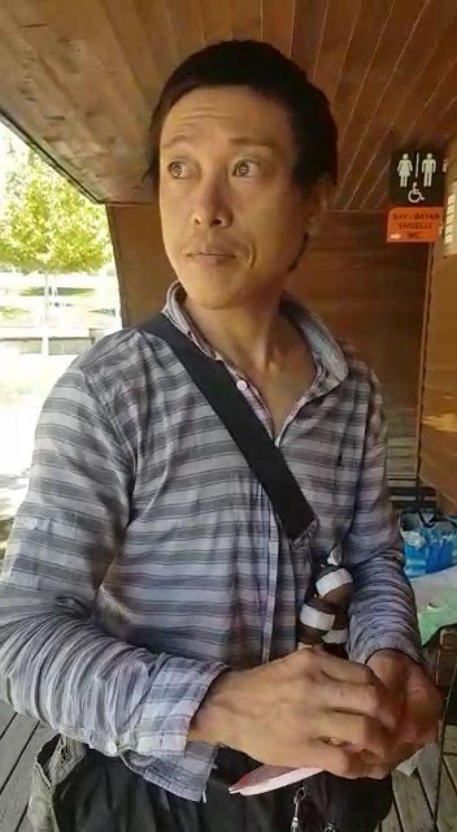Bıçaklanan Japon turistin yeni görüntüleri ortaya çıktı #1