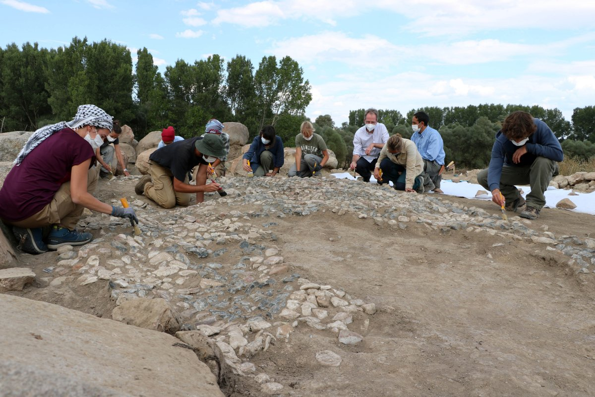 Dünyanın bilinen en eski mozaiği Yozgat'ta bulundu #6