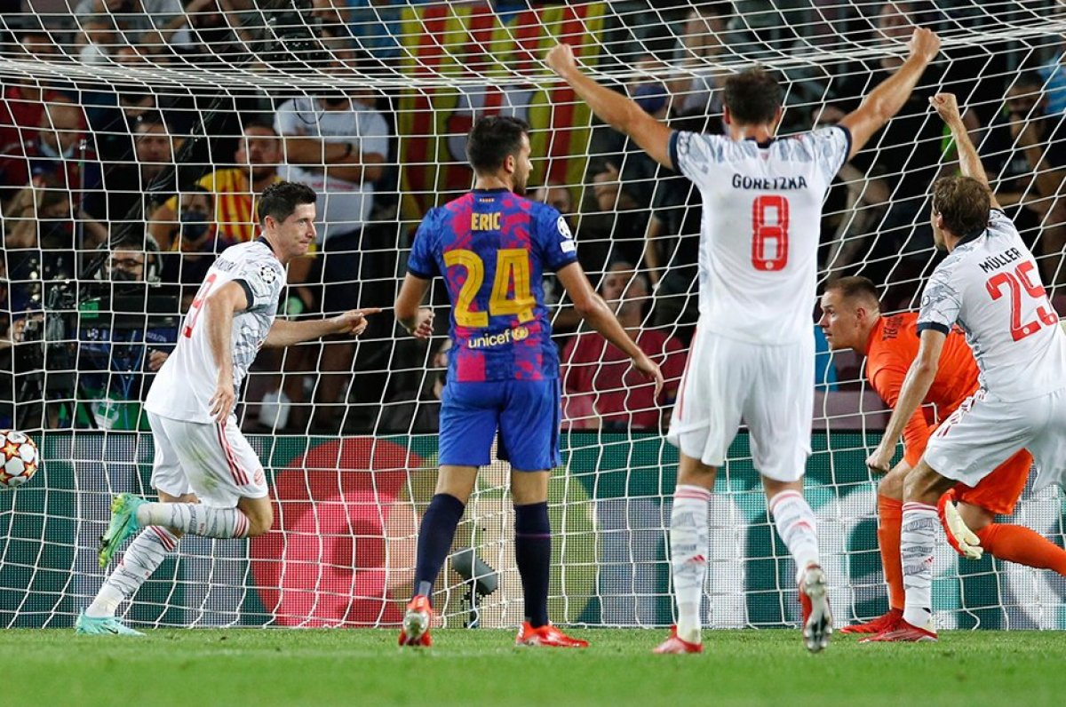Barcelona, Bayern Münih karşısında hezimete uğradı #2