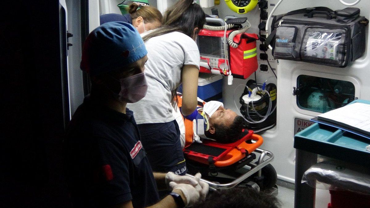 Kocaeli nde kaza yapan şoför: Hastaneye gidemem, çalışmam lazım #2