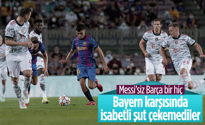 Barcelona, Bayern Münih karşısında hezimete uğradı