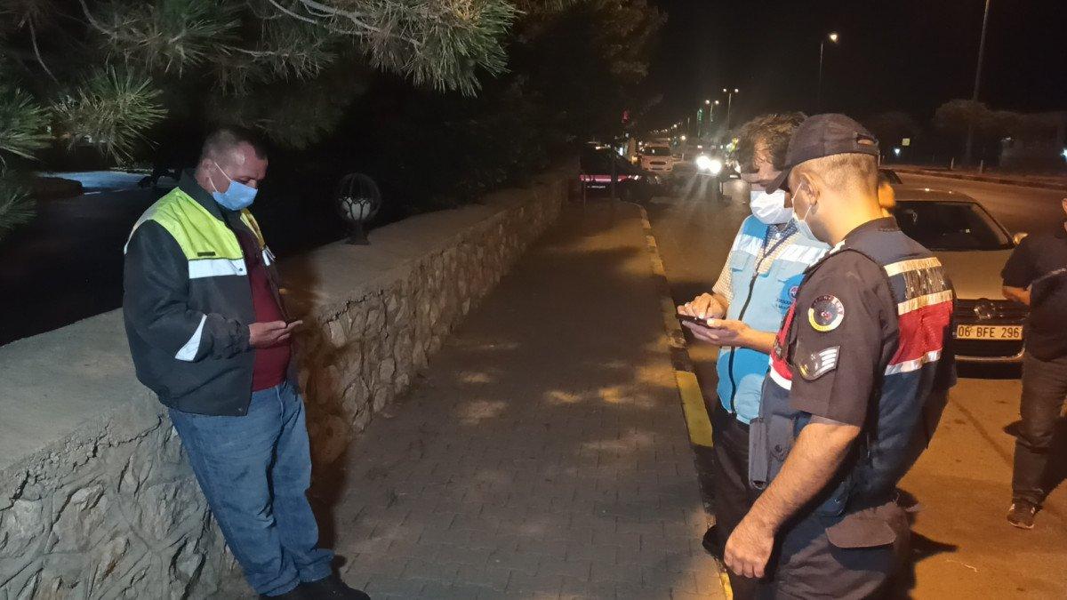 Kırıkkale de karantina süresinin bitmesine saatler kala yakalandı #4