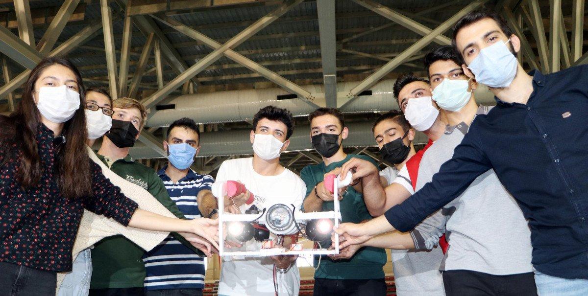 Erzurum da lise öğrencileri insansız su altı aracı tasarladı #4