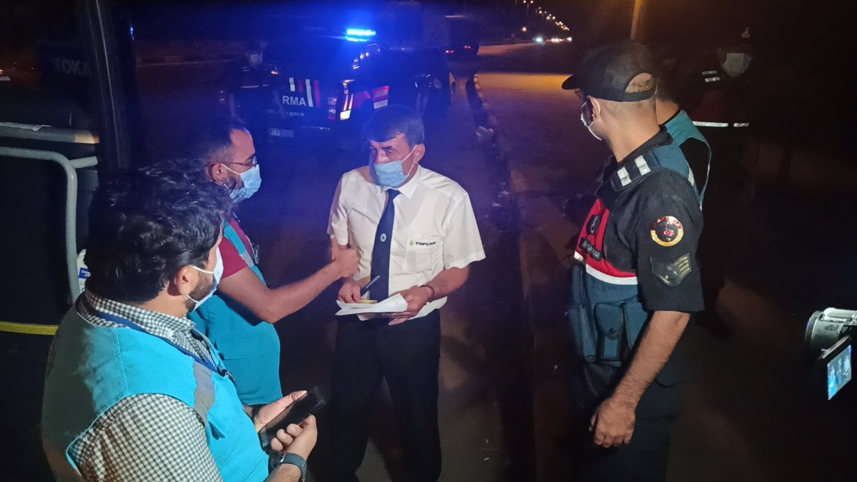 Kırıkkale de karantina süresinin bitmesine saatler kala yakalandı #5
