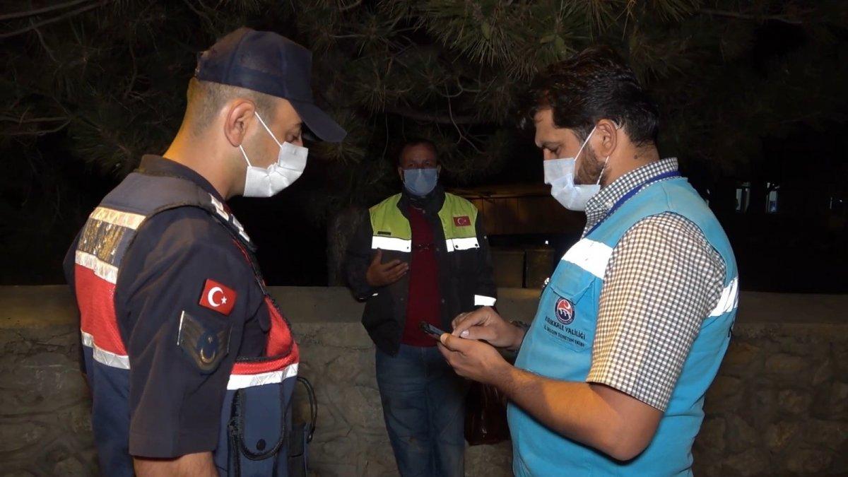 Kırıkkale de karantina süresinin bitmesine saatler kala yakalandı #2
