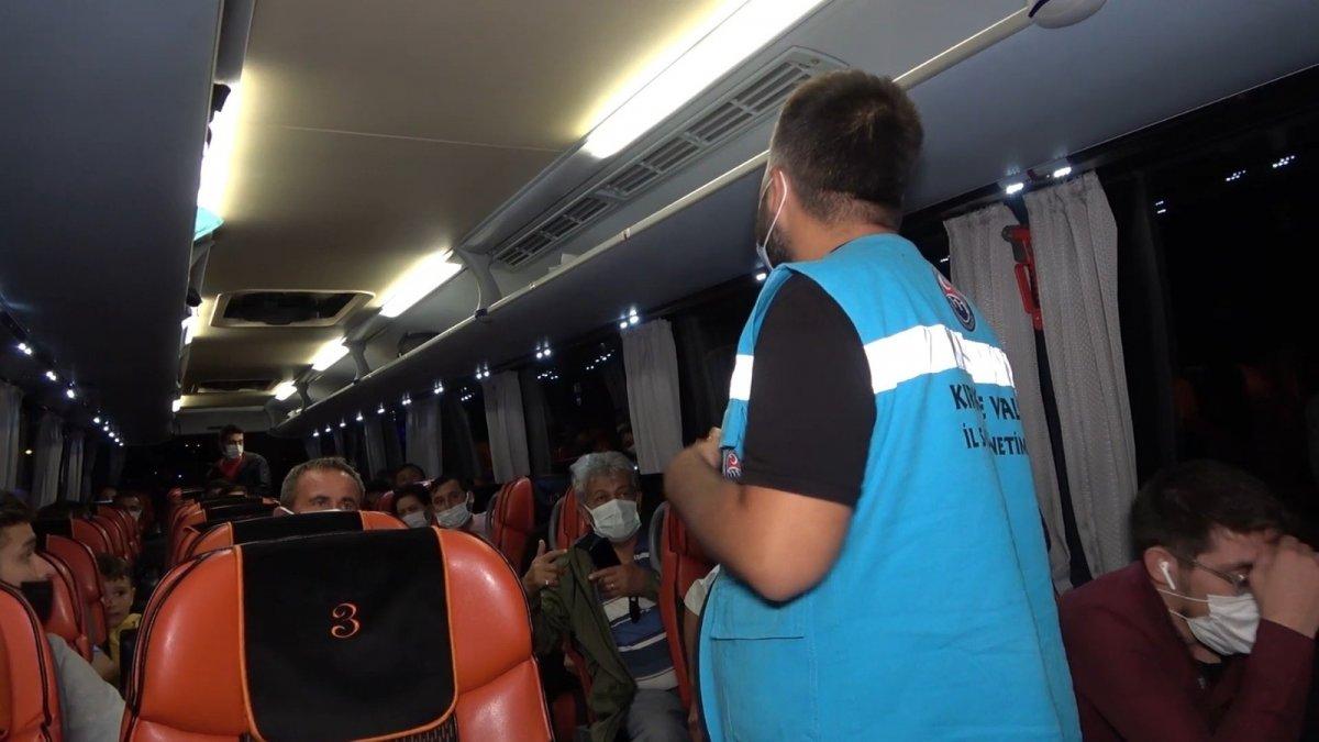 Kırıkkale de karantina süresinin bitmesine saatler kala yakalandı #1