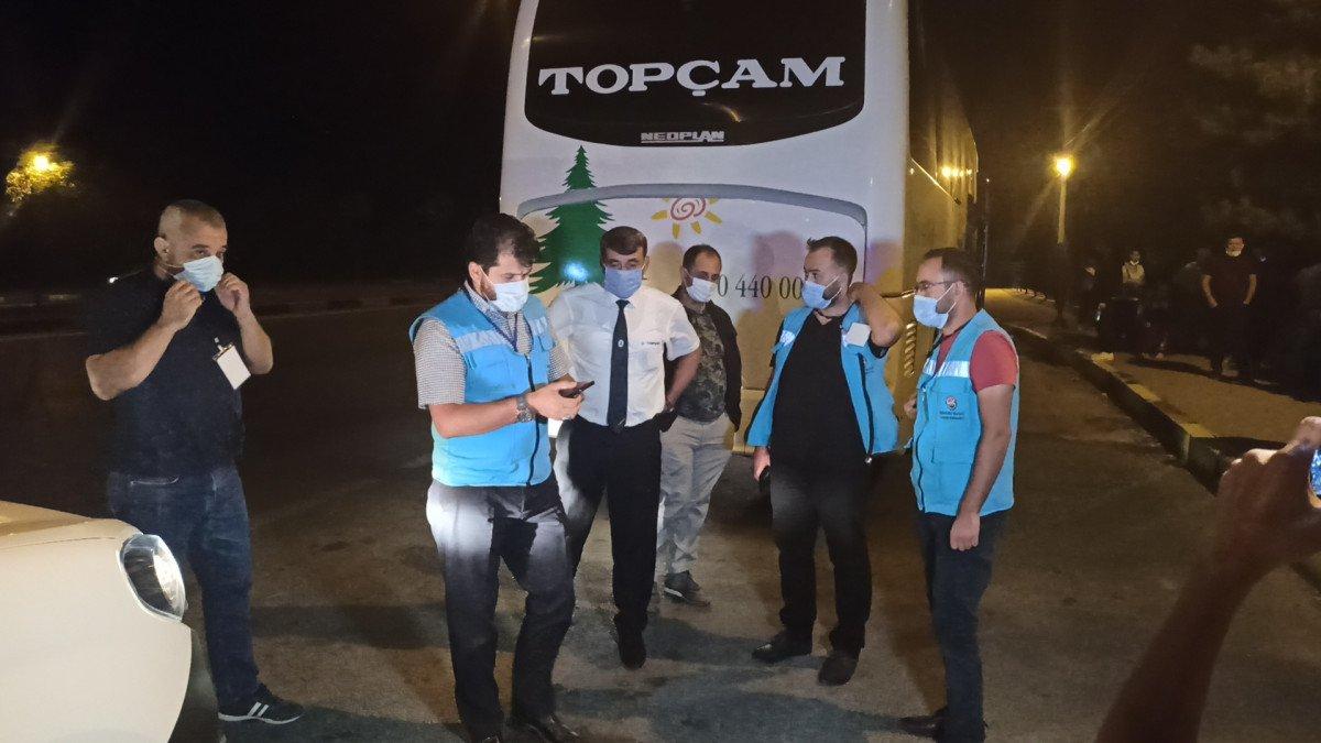 Kırıkkale de karantina süresinin bitmesine saatler kala yakalandı #7
