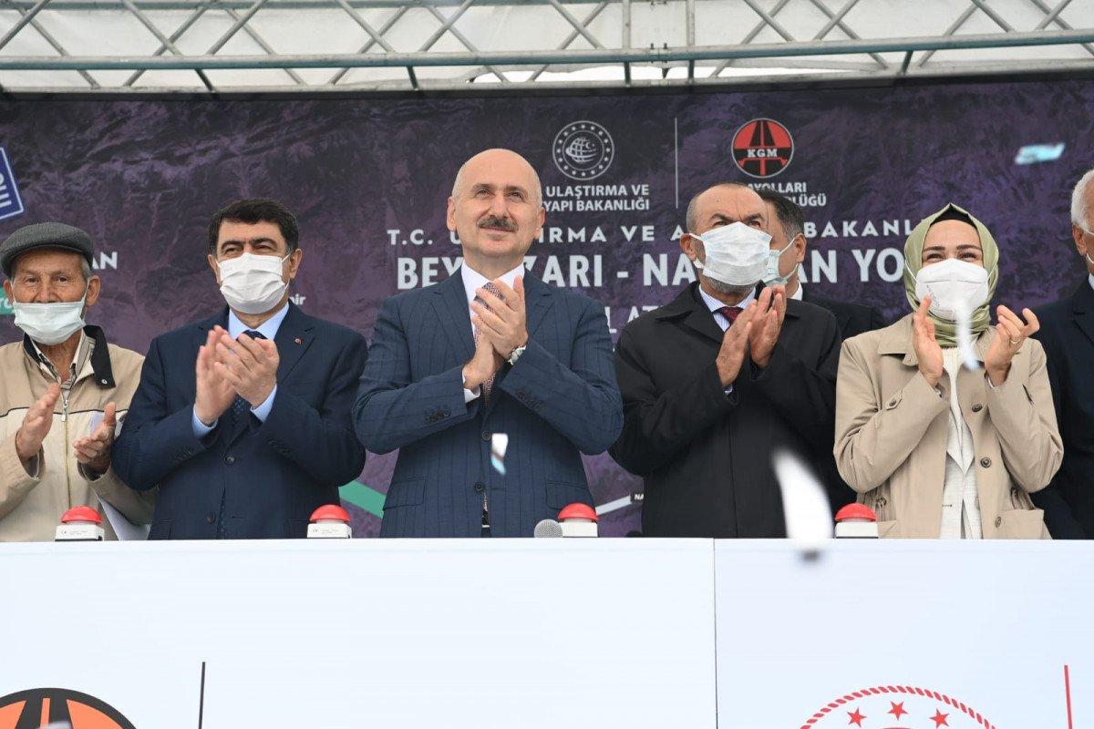 Adil Karaismailoğlu: Beypazarı-Nallıhan arasındaki süre 14 dakikaya inecek #3